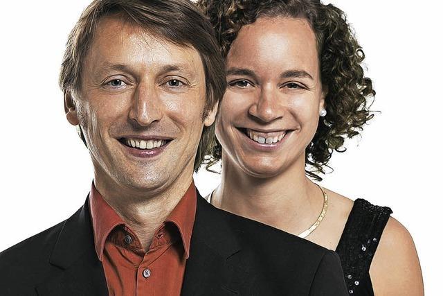 Anita Leuzinger und Anton Kernjak in Fahrnau