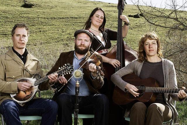 Foghorn Stringband in der Wodan-Halle Freiburg