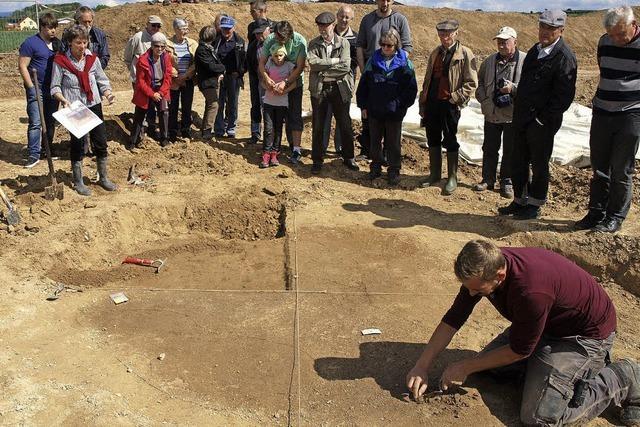 Ausgrabungen in Endingen: Einblicke in frühe Siedlungsgeschichte