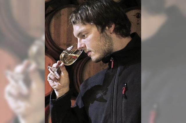 Jungwinzer Rinker vom Weingut Knab zu den anstehenden Weinpartys