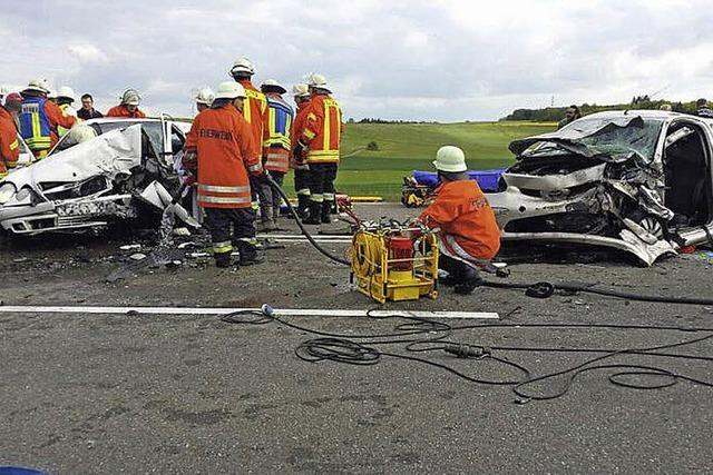 Erneut schwerer Unfall auf B31 bei Löffingen
