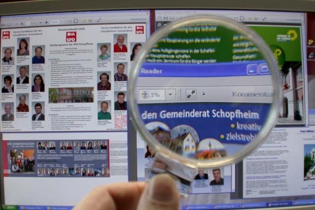 Schopfheims Wahlbroschüren im Fakten-Check