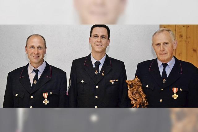 Wichtige Stützen der Feuerwehr Wieden
