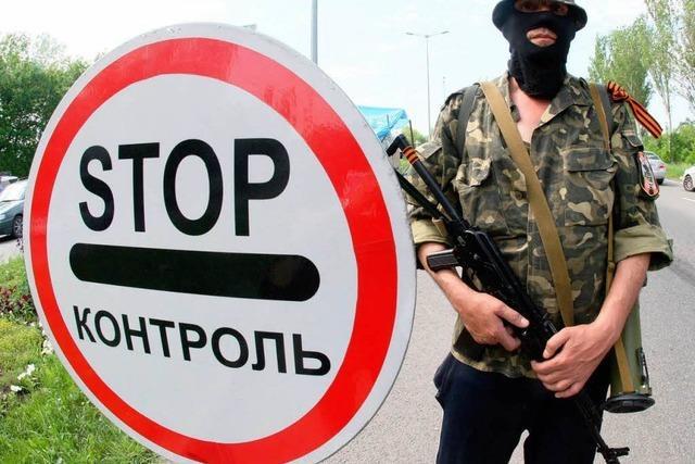 Ostukraine: Die Stühle am Runden Tisch bleiben leer