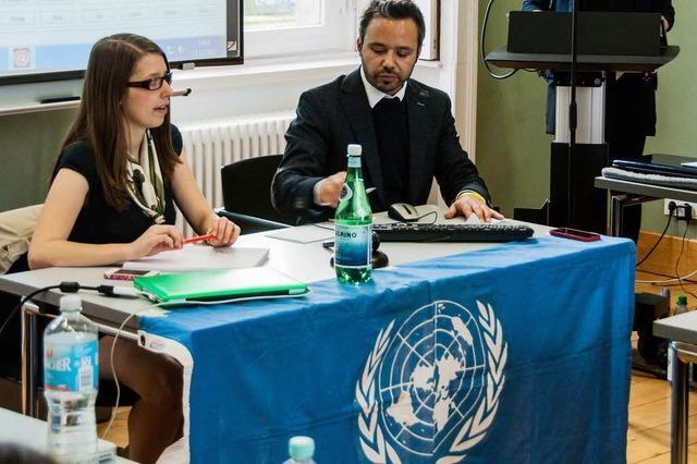 Diplomat für ein Semester