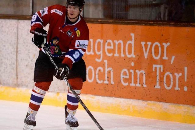 Niko Linsenmaier verlängert beim EHC Freiburg