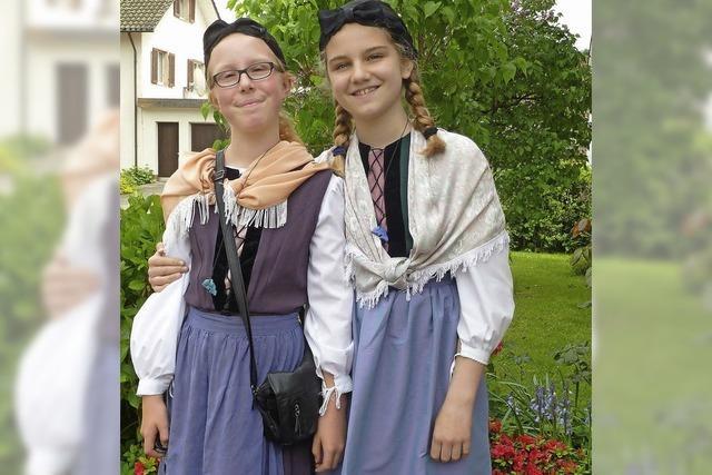Vreneles und Hanseles feierten mit