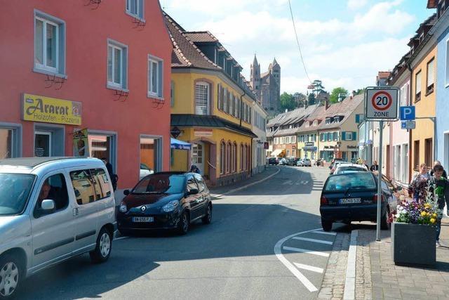 In der Rheinstraße haben drei Geschäfte zugemacht