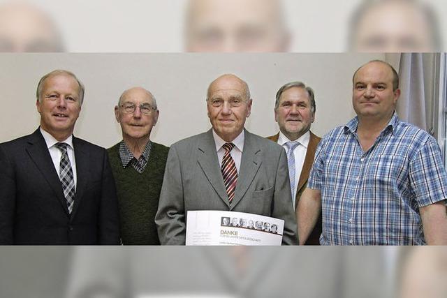 Seit 65 Jahren Mitglied in der CDU