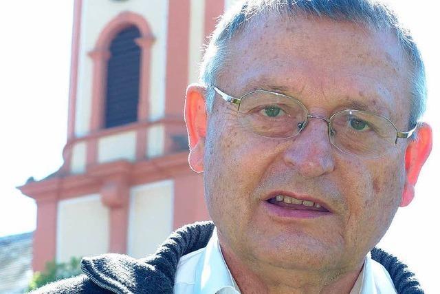 Pfarrer Bernhard Pfaff geht in Ruhestand