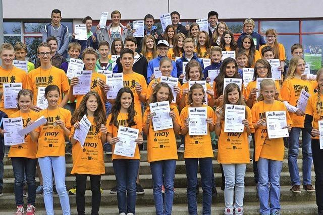 Mini-Marathon: Teams aus Bonndorf laufen vorne mit