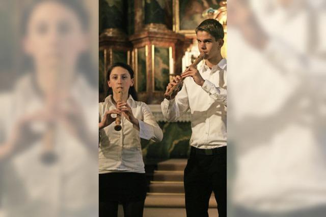 Junge Musiker boten ein Konzert der Extraklasse