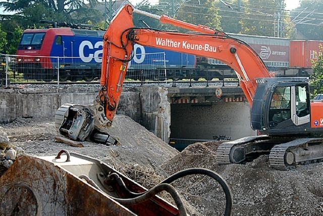 Baustelle steht: Untergrund fehlt Stabilität