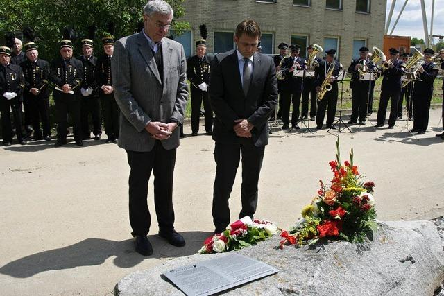 Erinnerung an Bergbau-Opfer