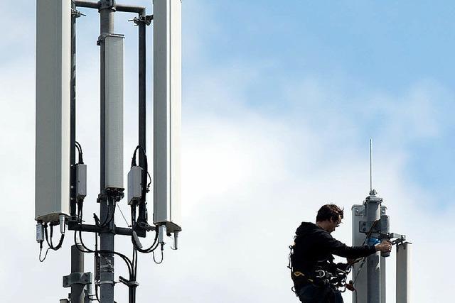 Kandern empfängt Internet über die Luft