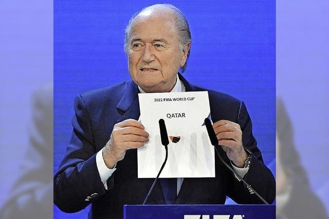 Sepp Blatter geht in die Offensive