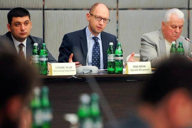 Runder Tisch zur Krise in der Ukraine endet ohne Ergebnis