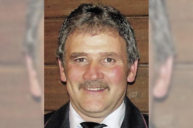 Jürgen Lindner neuer Vize bei der Lenzkircher Feuerwehr