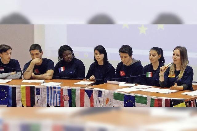 Jugendlichen die Angst vor Europa nehmen