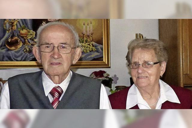 Seit 60 Jahren gemeinsam durchs Leben