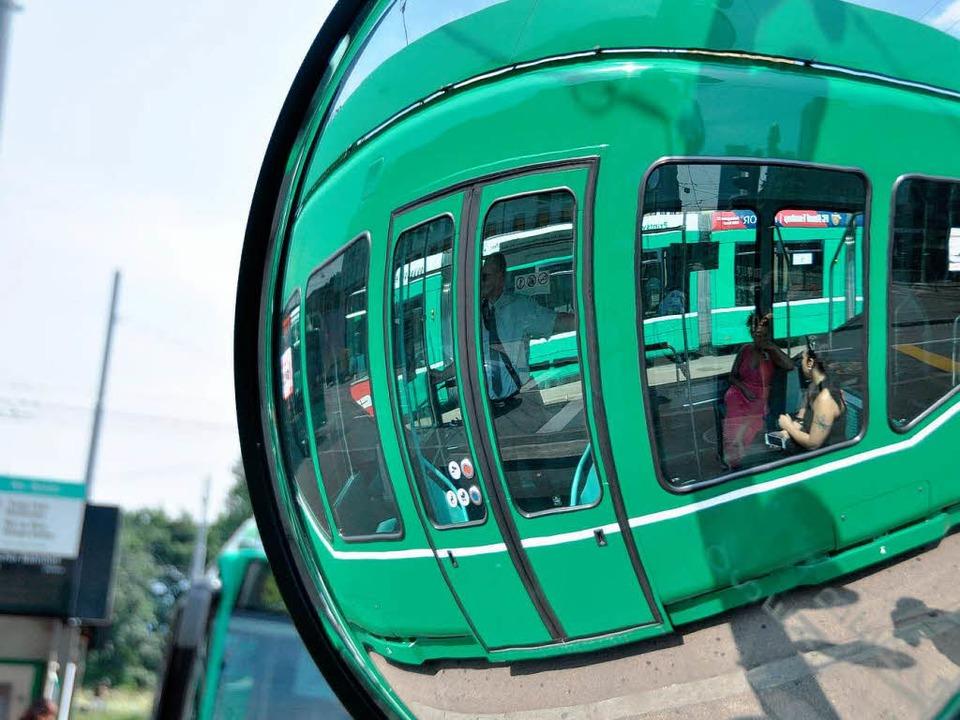 Für das Erlenmattquartier ist die Straßenbahn abgefahren.  | Foto: Daniel Gramespacher