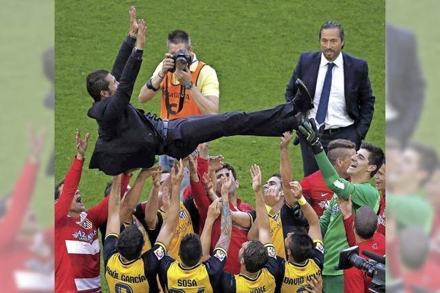 """Atlético Madrids Meistertitel: """"Ein Sieg der kleinen Leute"""""""