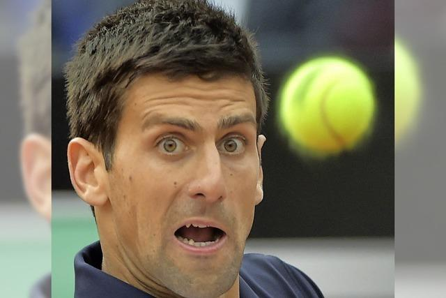 Novak Djokovic gewinnt in Rom