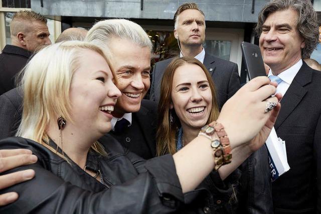 Geert Wilders und sein Programm gegen die EU