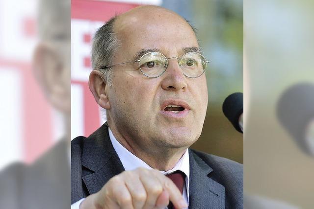 Gysi in Freiburg: Die Linke sieht sich als soziales Korrektiv in Europa