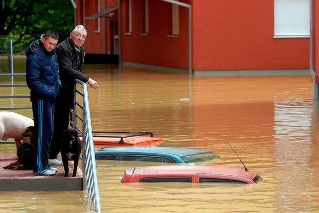 Hochwasser-Alarm