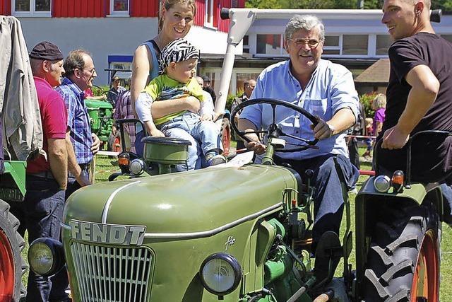 Familientreffen mit Traktor und Co.
