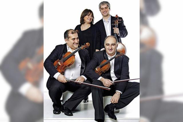 Das georgische Iberi-Quartett spielt in Grenzach