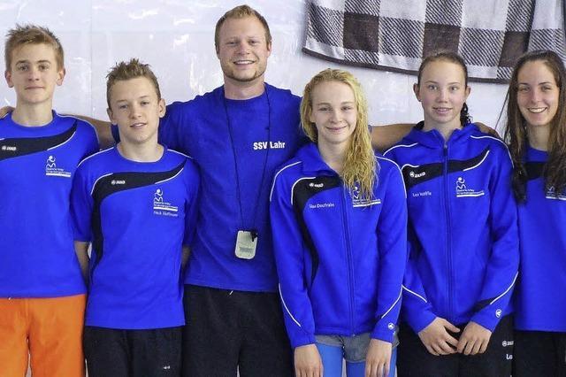 Karlis Lozbergs schwimmt zum Titel