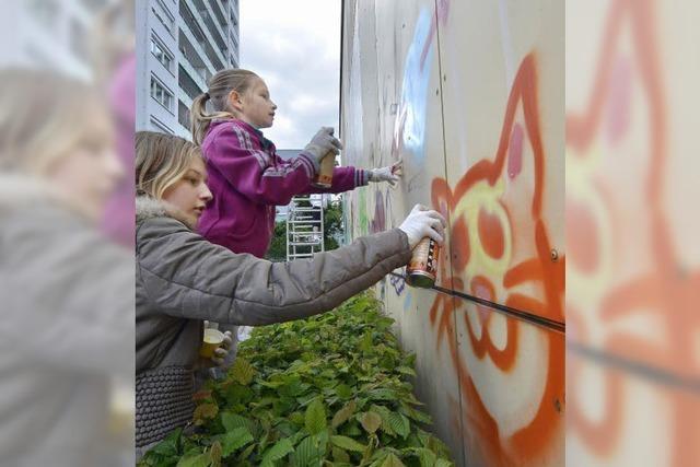 Anti-Graffiti-Aktion in Weingarten schafft neue Graffiti