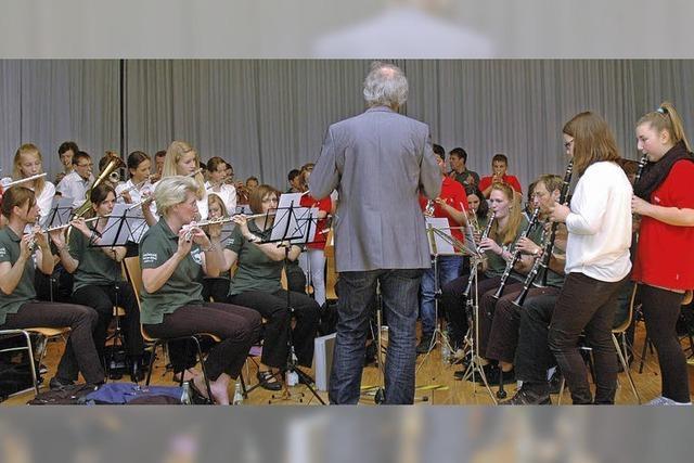 Stadtmusik mit starker Jugend