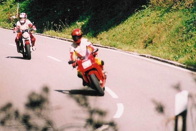 Kontrolle am Feldberg – mehr als 100 Biker zu schnell