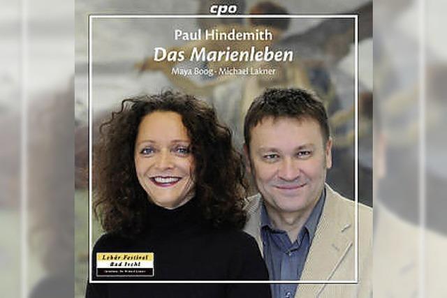 CD: LIED I: Mythisches Marienleben