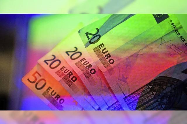Deutsche zahlen am liebsten mit Bargeld