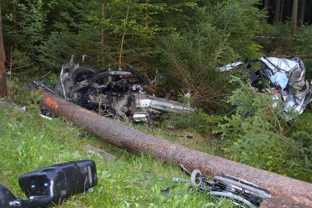 Auto rast gegen Baum – Fahrer stirbt – Ursache unklar