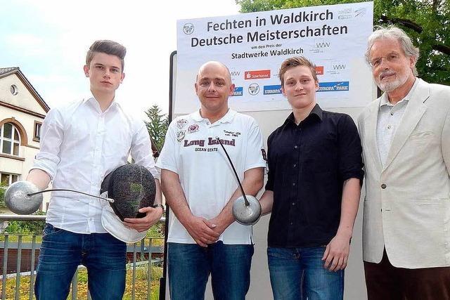 Deutsche Fechtmeisterschaften in Waldkirch