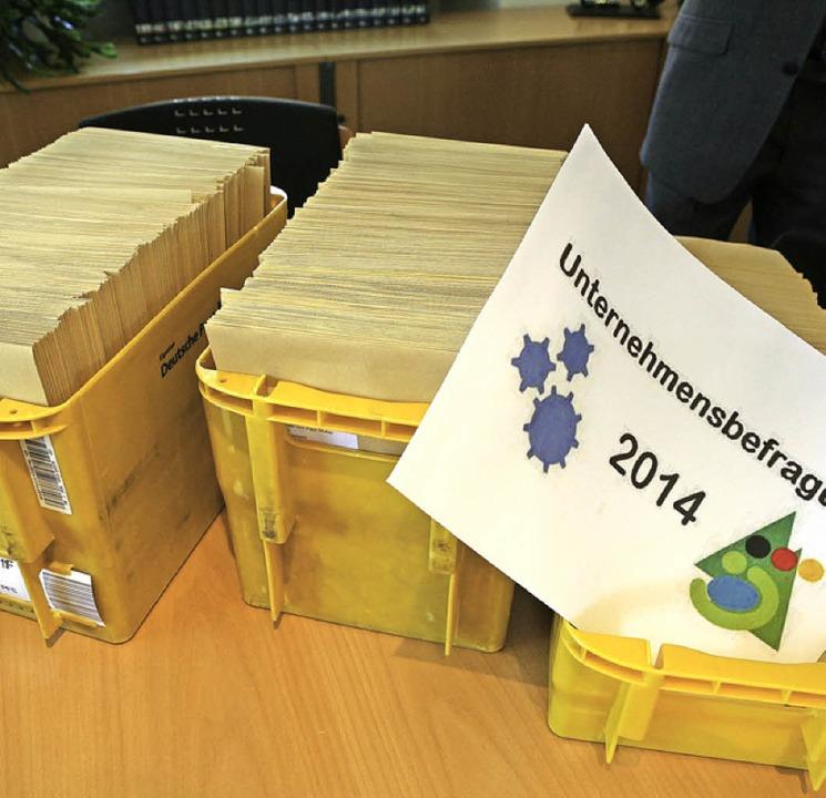 Gut 800 Briefe werden verschickt   | Foto: bnh