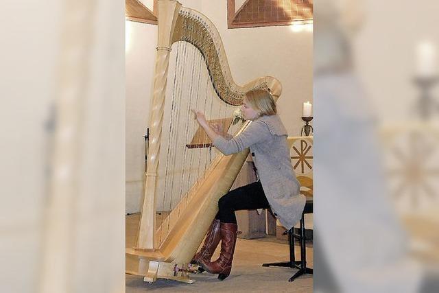 Die Harfe kann auch Jazz