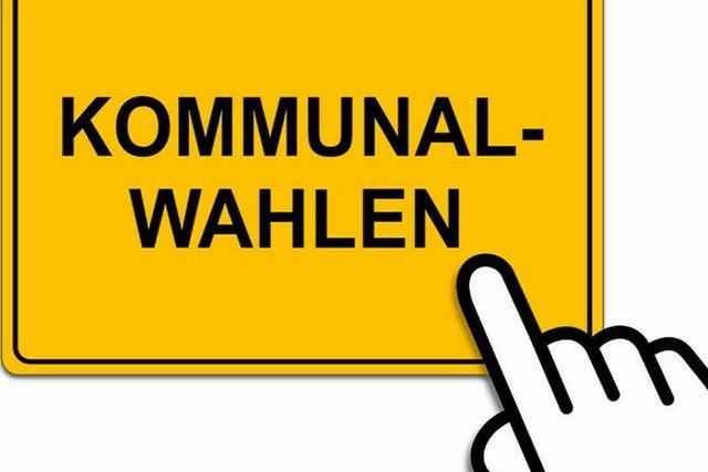 Ergebnis der Kommunalwahl 2014 in Müllheim