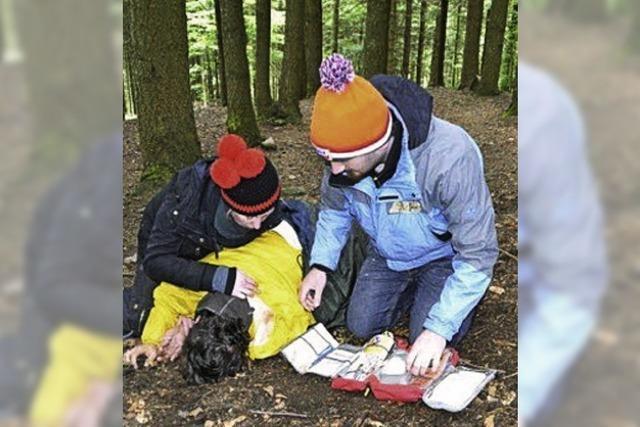 Für Notfälle im Wald besser gerüstet sein