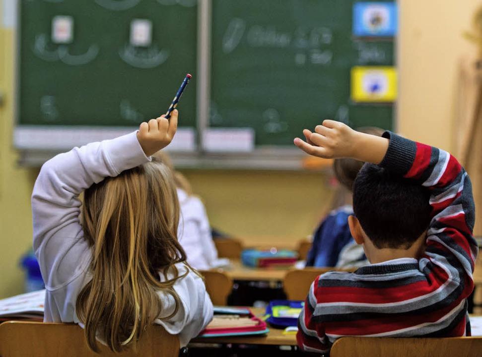 Von 8 bis 16.10 Uhr sollen die Grundsc...er Julius-Leber-Schule betreut werden.    Foto: dapd