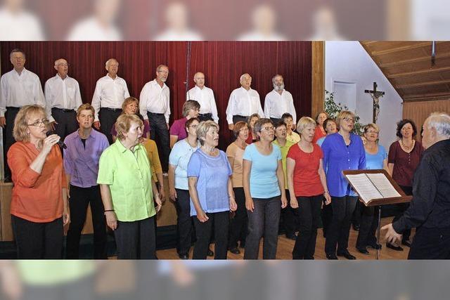 Johannes-Chor begeistert mit Hits vom 16. bis 20. Jahrhundert