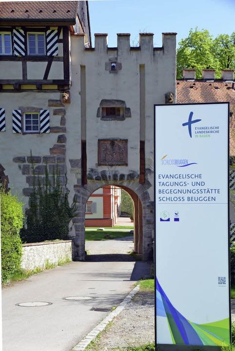 Die Zukunft von Schloss Beuggen ist di... mit Kirchenvertretern und der Stadt.   | Foto: I. Böhm-Jacob