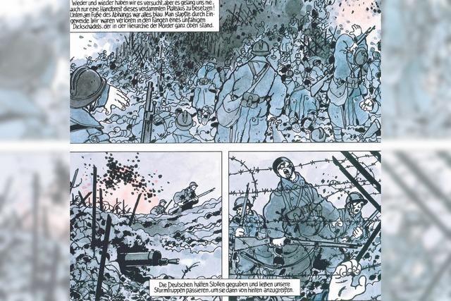 """Comic-Altmeister Jacques Tardi: """"Wir wissen jetzt, dass wir sterblich sind"""""""