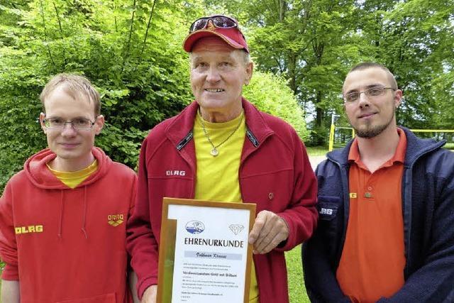 Hohe DLRG-Auszeichnung für