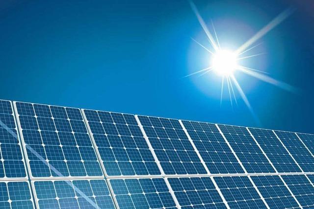 Plan einer XXL-Solarfabrik ruft geteiltes Echo hervor